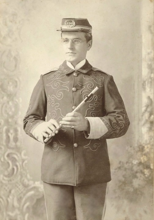 Frank Henry Brehm in Uniform