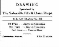 Raffle Ticket 1948
