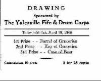 Raffle Ticket 1948