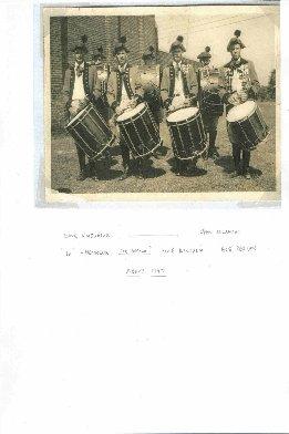 Yalesville Drummers Circa 1947